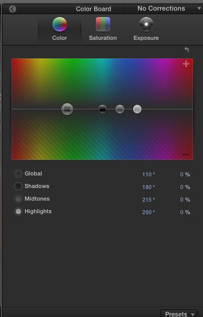 MOdulo de cores